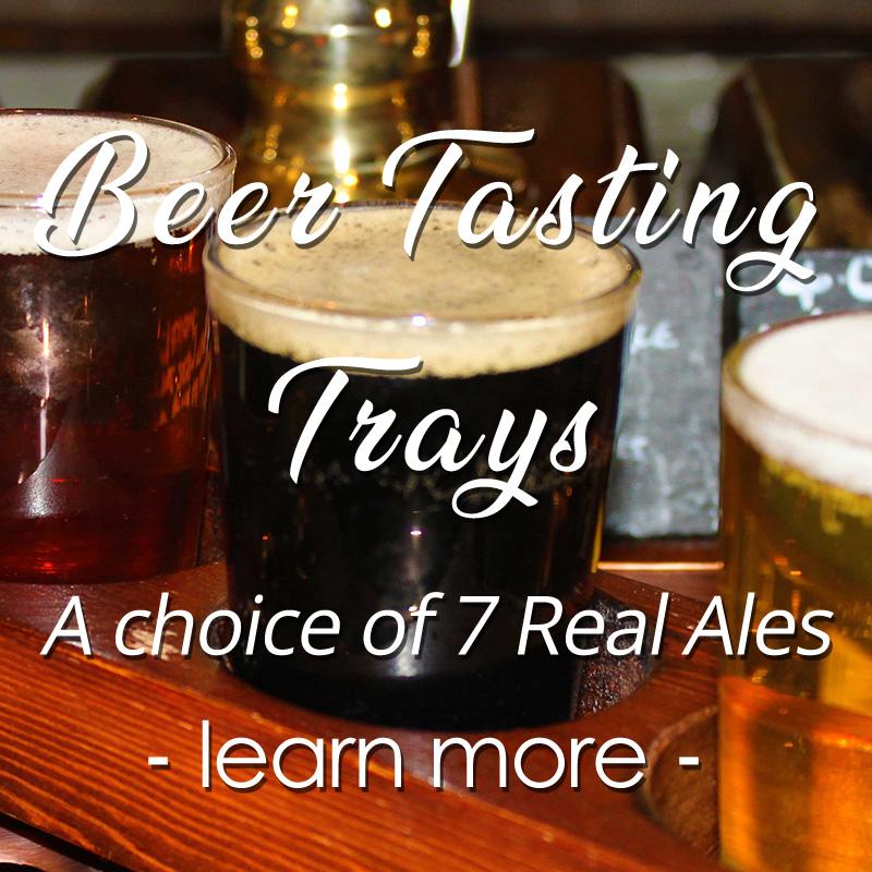 beer tasting tray